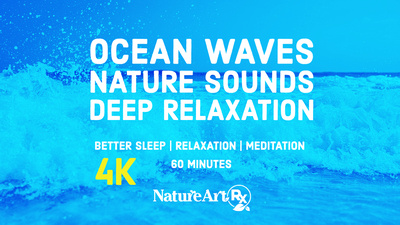 Calming Ocean Waves | Fall Asleep Fast, Relax, Meditate | NatureArtRx Films