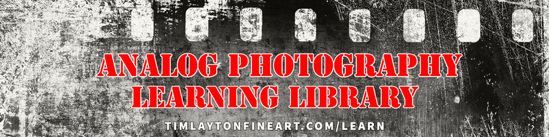 Analog Photography Learning Library by Tim Layton