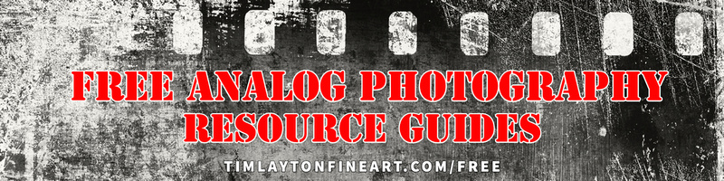 Free Analog Photography Resource Guides by Tim Layton
