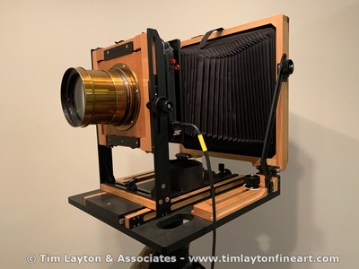 Cooke Series II Portrait Lens Mounted on 8x10 Chamonix View Camera by Tim Layton