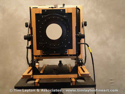Sinar Copal Shutter on 8x10 Chamonix View Camera