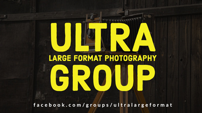 The Ultra Large Format Photography Facebook Group by Tim Layton