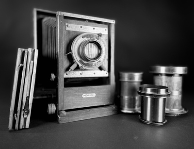 Vintage Large Format Lenses by Tim Layton