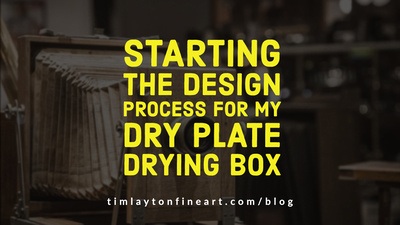 Starting the Design Process For My Dry Plate Drying Box by Tim Layton