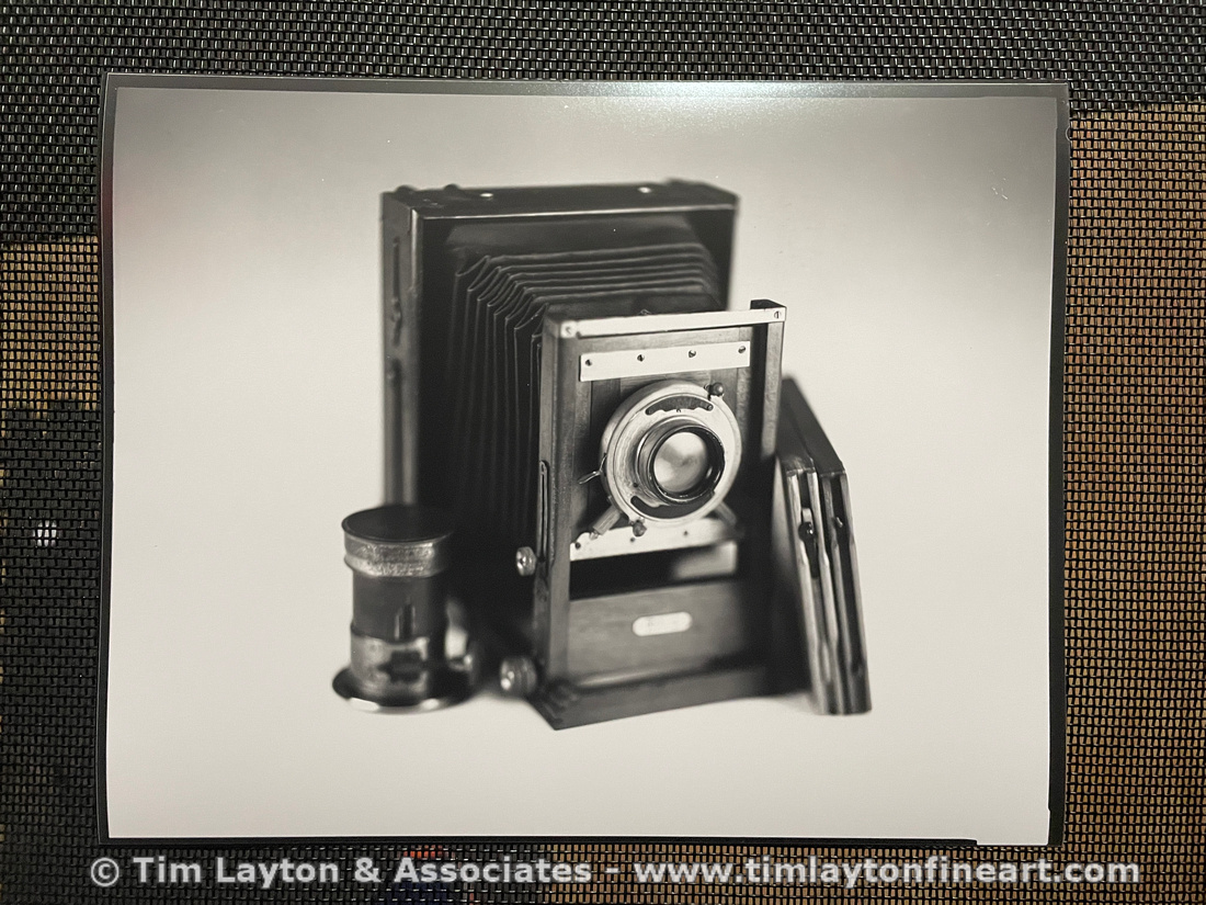 Cooke Series II @ F4.5 Contact Print by Tim Layton