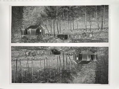 Two 4x10 Panoramic Exposures on a single Sheet of 8x10 Film by Tim Layton
