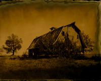 Warren County Barn - Aged Collodion