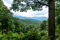 Smoky Mountains - Motorized Trail - 1st Overlook
