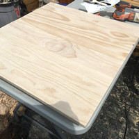 Building a new kitchen table