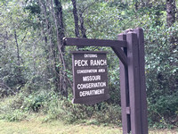Peck Ranch Sign
