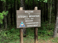 Stegall Mountain Sign