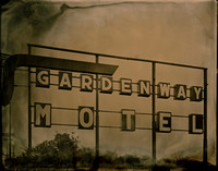 Gardenway Motel Sign - Pacific, MO