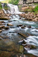 Cumberland Plateau - Tennessee Waterfall - Vertical