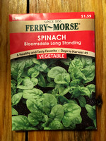 Spinach - Bloomsdale Long Standing Seeds