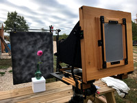 5 - Large Format View Camera in the Outdoor Studio